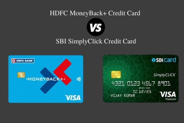 HDFC MoneyBack Plus Credit Card Vs SBI SimplyClick Credit Card