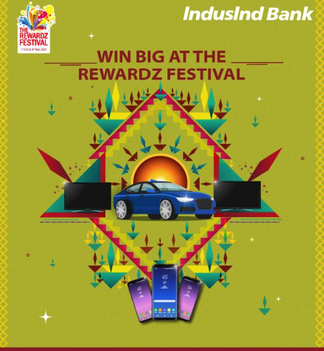 Indusind Bank rewardz Festival