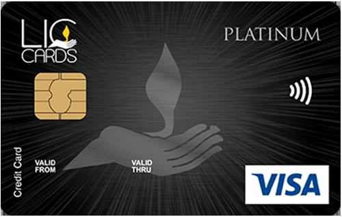 LIC Platinum credit card