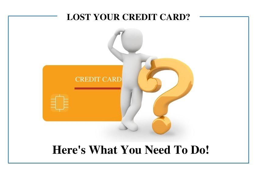 Credit Card Lost