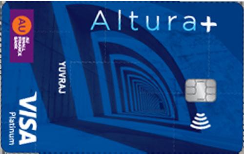 AU Bank Altura Plus Credit Card